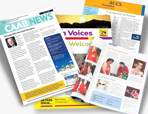 Print Bureau Brochures and Newsletters