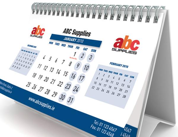 Print Bureau Desk and Wall Calendars