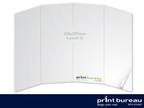4 Panel DL Brochure//Leaflet