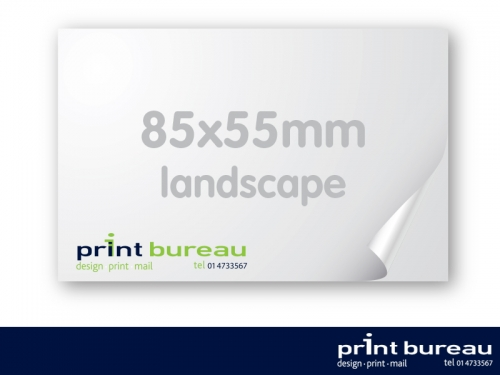 business Cards Landscape