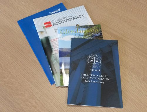 Saddle Stitched Brochures and Booklets