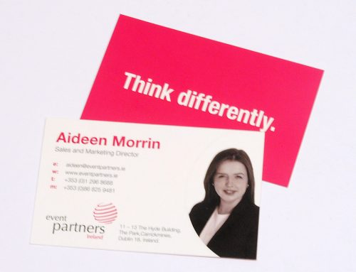 Event Partners Business Cards