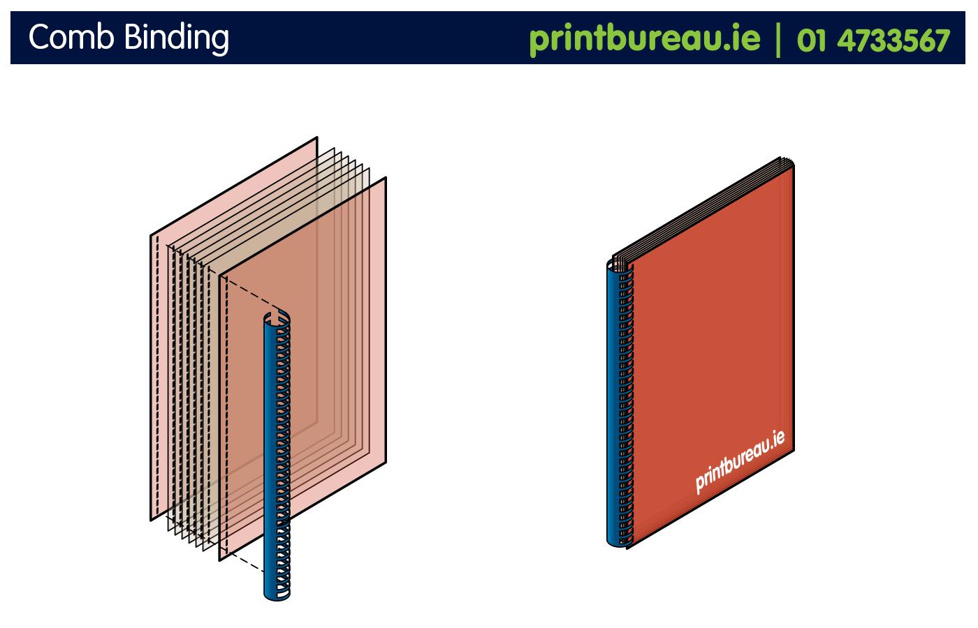 Print Bureau Comb Binding