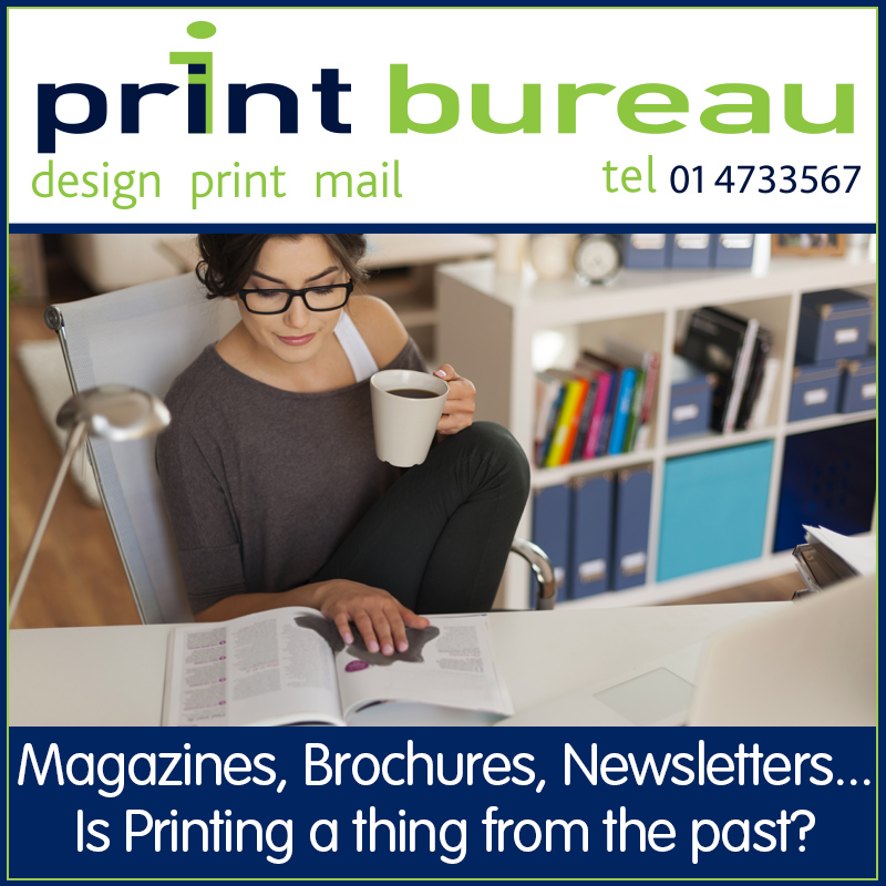 Print Bureau, Magazine, Brochure and Newsletter Printing in Ireland