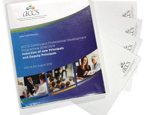 Custom Designed and Printed Folders with matching Envelopes