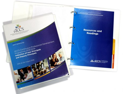 Printed Folders and Tabbed Separators