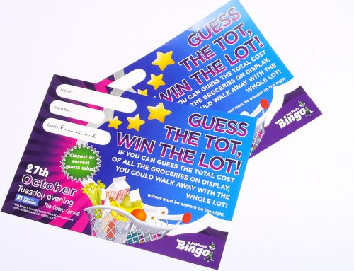 Bingo Promotional Flyer